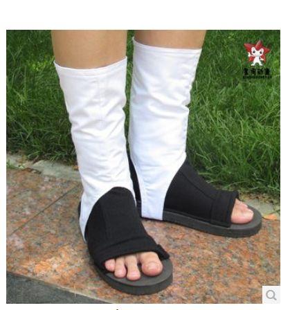 Наруто акацуки ниндзя тоби Obito мадара учиха косплей туфли два использование ботинки