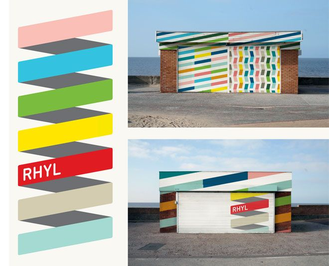 rethinking the identity of a british seaside town  by proud creative via design work life