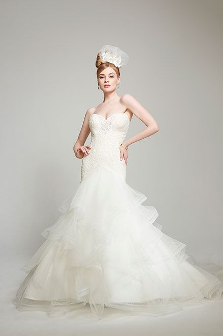 67 best images about Horsehair tulle wedding dresses on ...