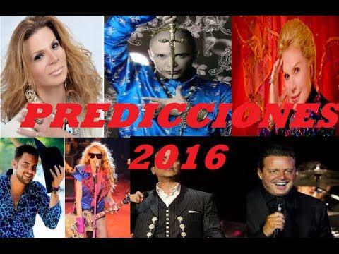 Mhoni Vidente predice que famosos morirán en el 2016 - YouTube