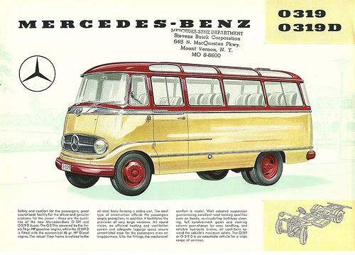 Mercedes-Benz Bus as sold in USA