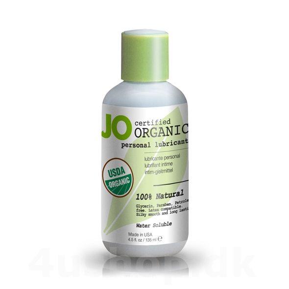 JO Organic glidecreme - 135 ml - USDA Certified Organic #økologi #økologisk #økologiskglidecreme #JO #BIOglide #Shunga #glidecreme #USDAcertifed #CertificationBiologique #NaturalProductStandard @4ushop