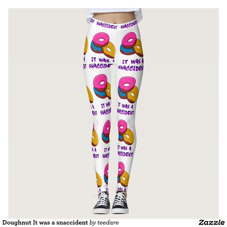 Doughnut It was a snaccident Leggings