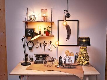 Lag din helt egne unike lampe – kun fantasien setter grenser!