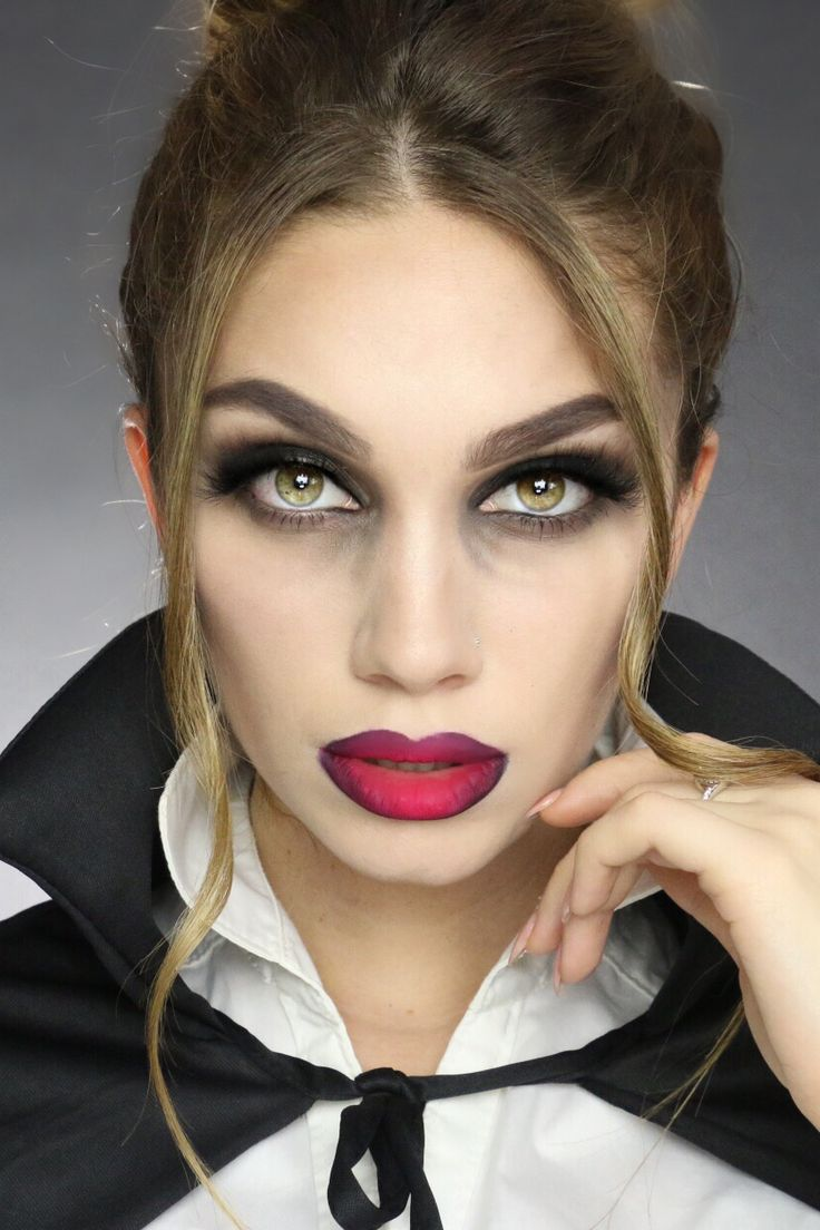 This last minute Halloween makeup tutorial gives you 3