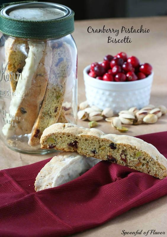 Cranberry Pistachio Biscotti ~ They will keep for at least a few weeks ...