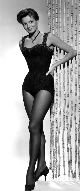 Portrait of Angie Dickinson in Rio Bravo directed by Howard Hawks, 1959