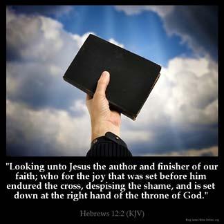 Inspirational Image for Hebrews 12:2