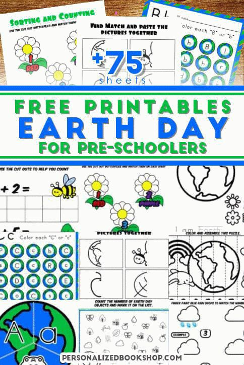 FREE earth day activities for kindergarten and first grade ...