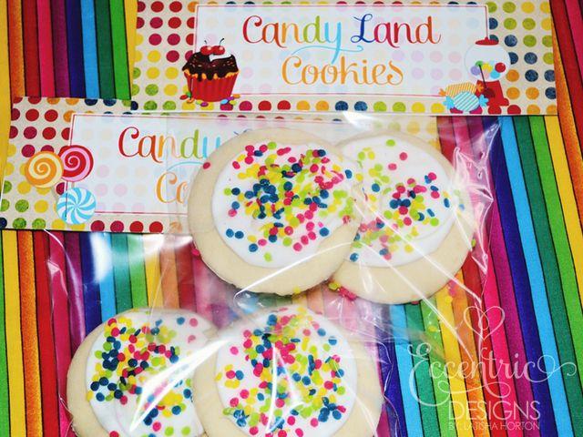 Candyland cookies