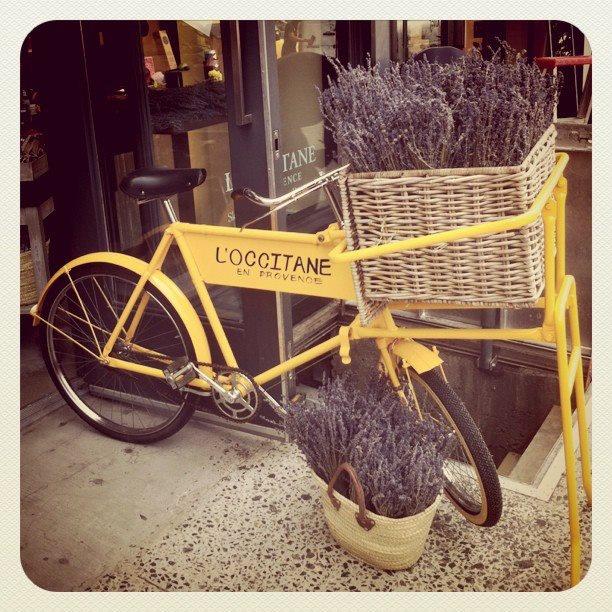 l'occitane bike #loccitane #springlove