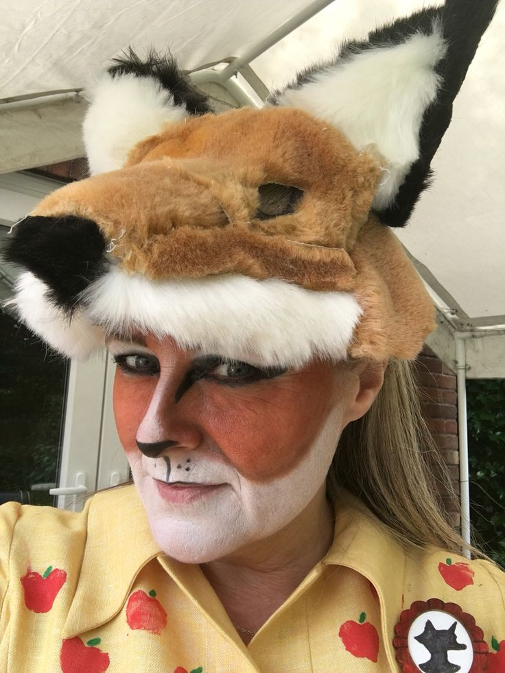 Fantastic Mrs Fox mask