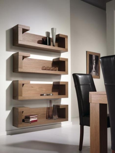 M s de 25 ideas incre bles sobre repisas de madera for Ganchos para repisas