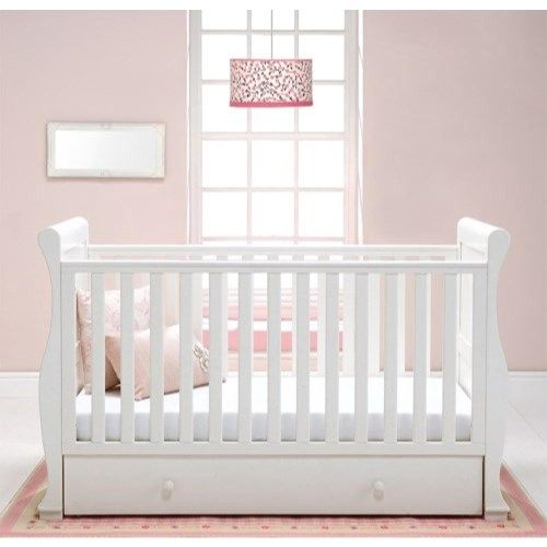 For A Wide Range Of Cotbeds And Nursery Bedding Including This Alaska  Sleigh Cotbed White, Call Into Your Local Harvey Norman Store Or Shop  Online With ...