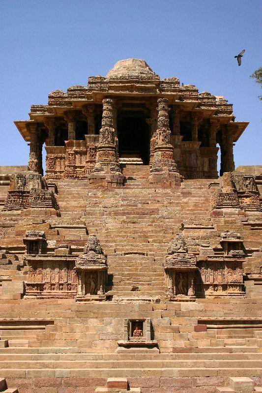 Ancient Hindu Sun Temple (Surya Mandir), Modhera, Gujarat
