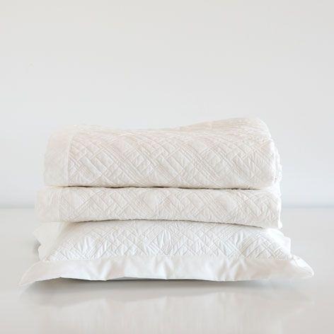 Gebroken witte sprei en kussenhoes met structuur - Dekbedden - Bed | Zara Home Netherlands