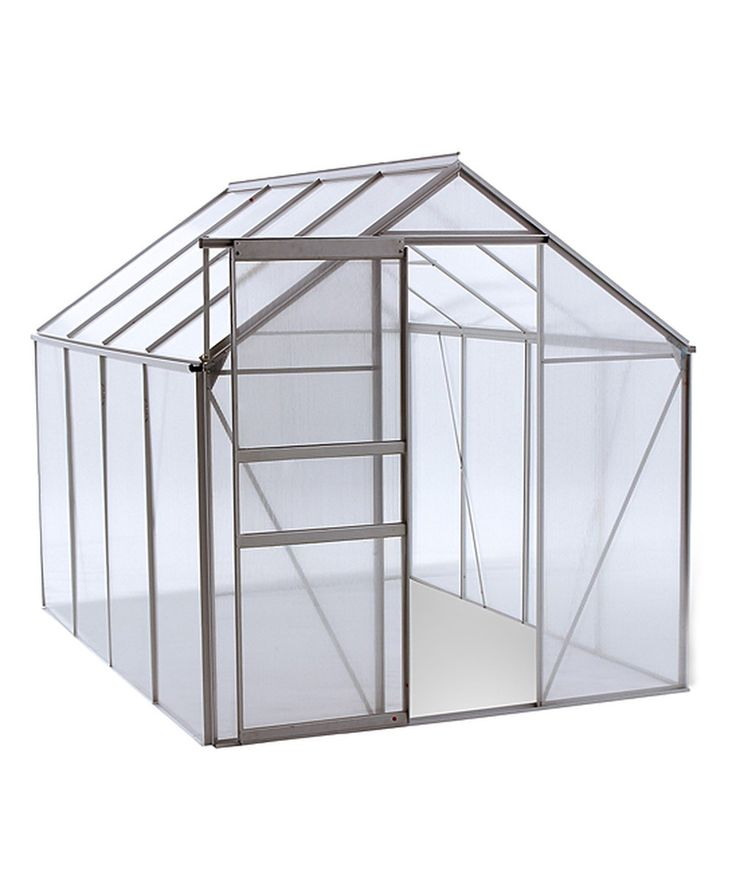 Look at this Aluminum Walk-In Greenhouse on #zulily today!