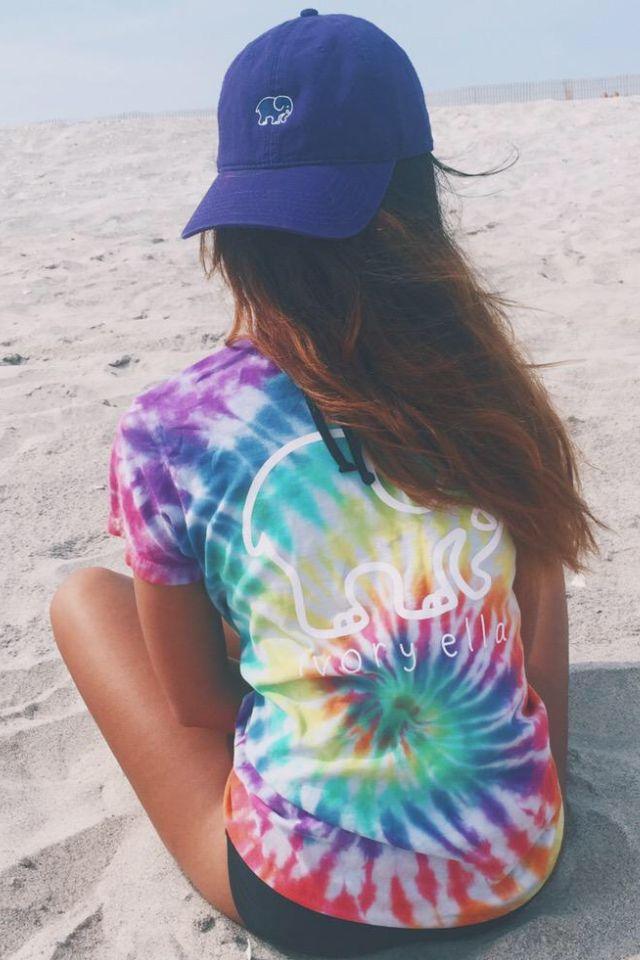 Tie - Dye Ivory Ella T - Shirt