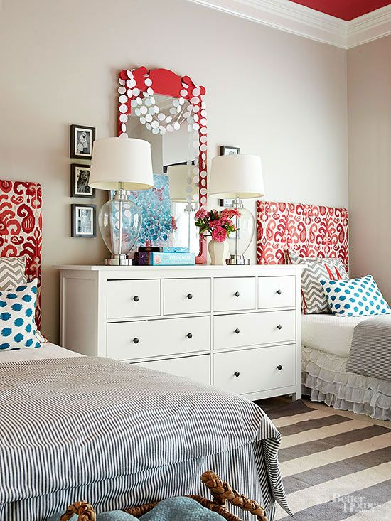 pretty headboard decorating ideas for the kiddos