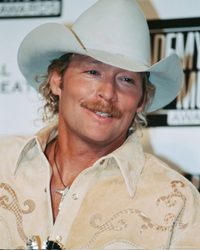 Alan Jackson <3 LOVE his music. I've grown up listening to him. And know almost all the words to every song.