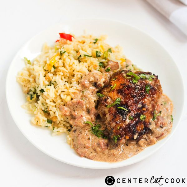 Chicken in Creamy Bacon Sauce