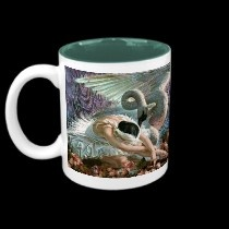 Ballet Swan mugs by ASummersDay