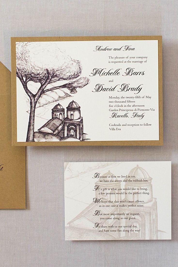 Ravello Italy Wedding Invitations 16 best ITALY