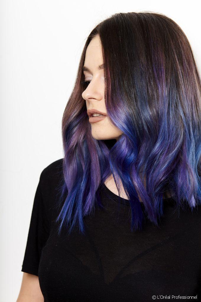 Trend Alert : Geode, next big hair color