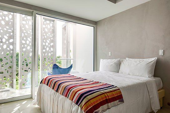 El Blok Hotel to Open in Vieques - The guest rooms feature locally sourced furnishings.