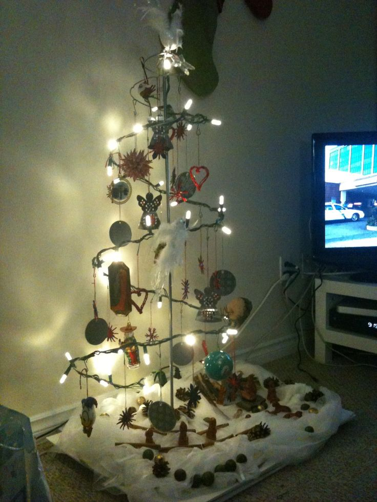 Ikea tree, tree full of fun ideas.