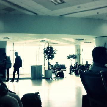 Doha International, Qatar, Boarding at Gate 16