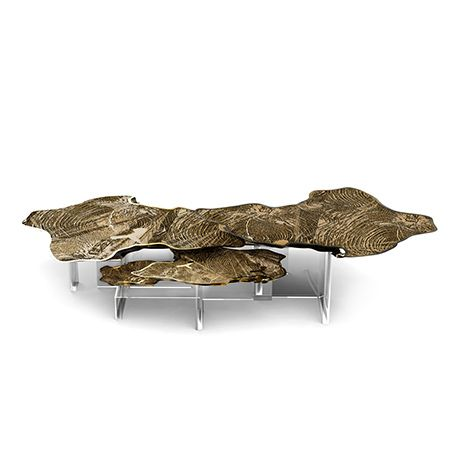 The Monet center table is a unique and sophisticated furniture piece, designed in Boca do Lobo's quintessential style