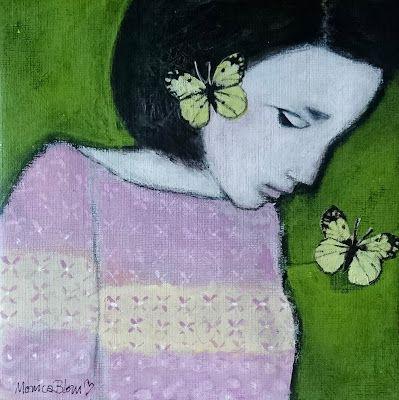 Monica Blom Art: Dreaming