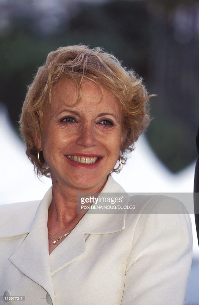 Photo Call 'N'Oublie Pas Que Tu Vas Mourir' In Cannes, France On May 25, 1995-Bulle Ogier.