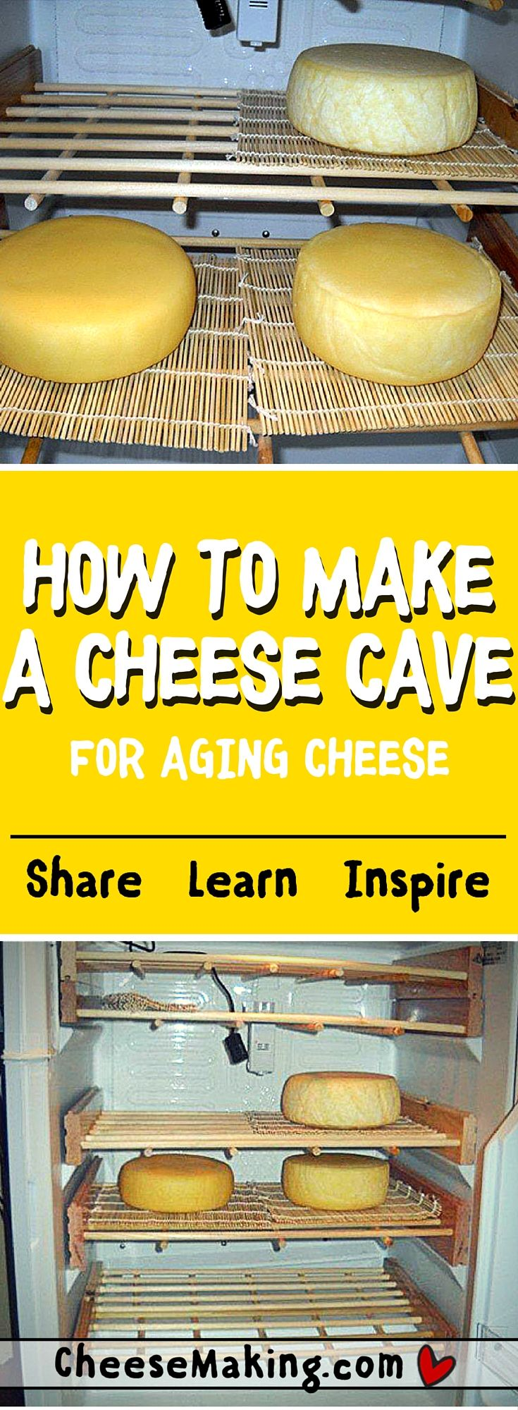 "How to Make a Cheese ""Cave"""