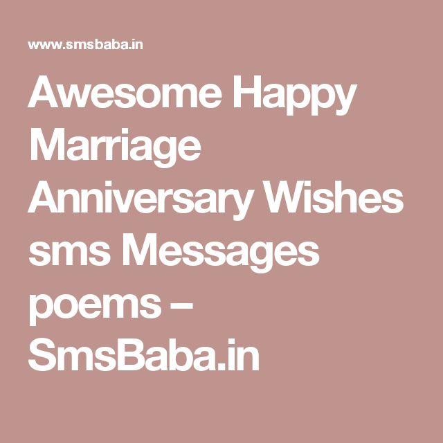 Shayari N Joke Wedding Anniversary Quotes Happy: Best 25+ Happy Marriage Anniversary Sms Ideas On Pinterest