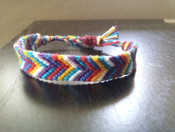 adjustable friendship bracelet. no more lost / permanently knotted bracelets!