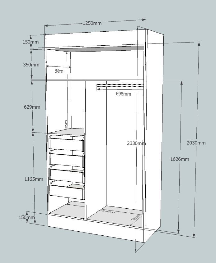 Cabinetry CAD for accurate cutting lists.