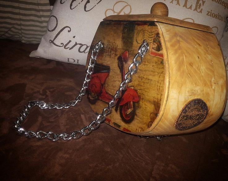 diy wood bag
