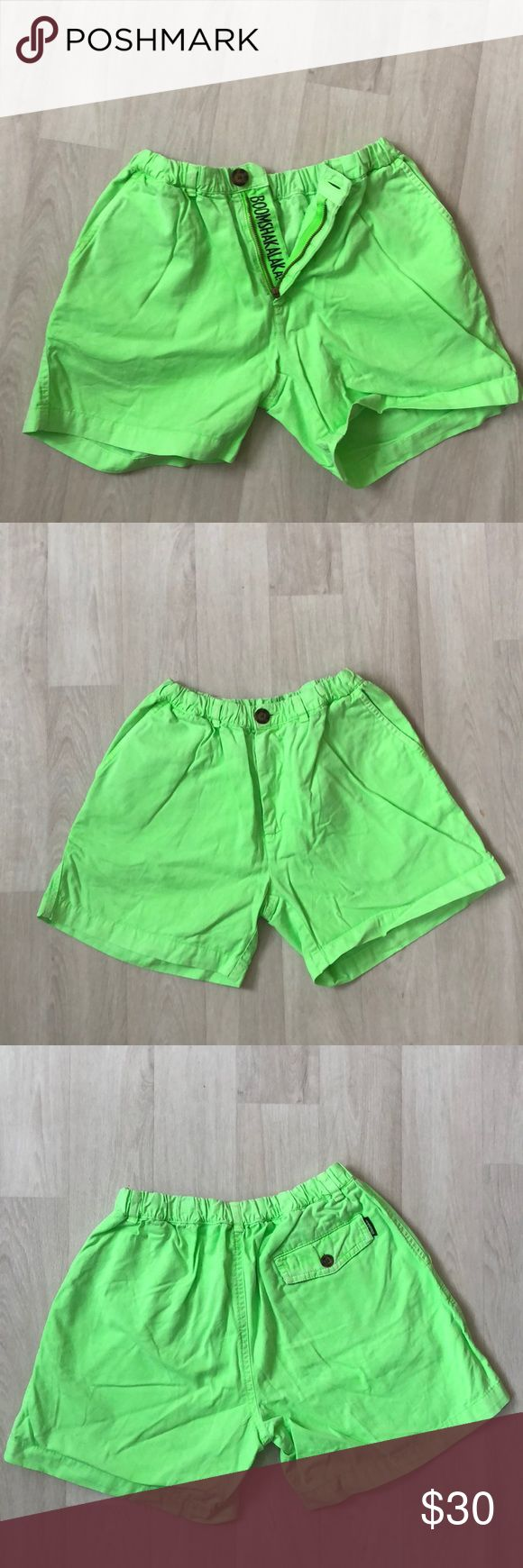 Chubbies Neon Green Shorts Size S Chubbies Neon Green Shorts Size S. Trying to clean out my closet, no trade requests please! chubbies Shorts