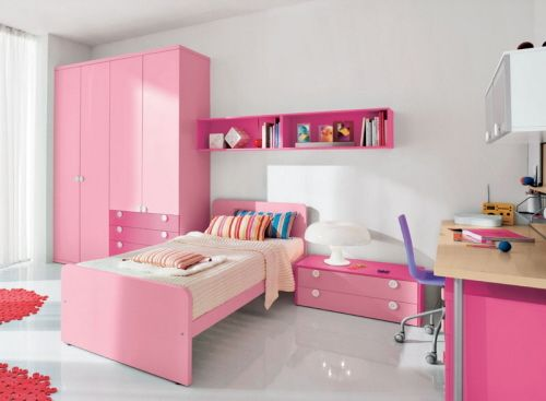 324 best PINK BEDROOMS images on Pinterest | Bedrooms, Pink ...