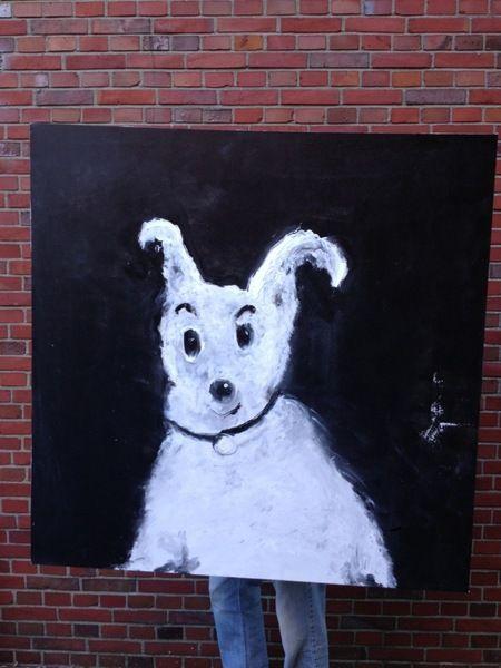 Hund  von bilderbude auf DaWanda.com