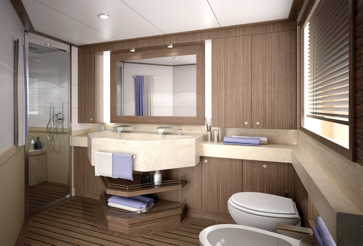 Internal view Mochi Craft - Long Range 25 #yacht #luxury #ferretti #mochi