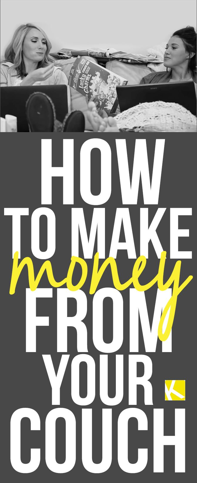 5 Easy Ways to Make Money from Your Couch