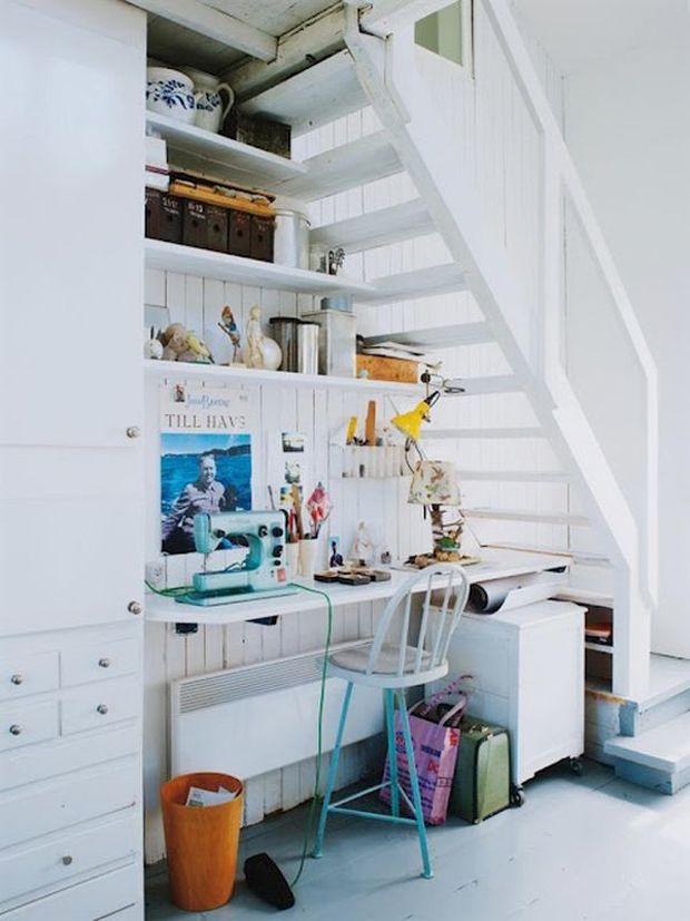 home office #smallspaces #decor #compacto