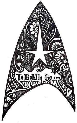 Starfleet insignia tattoo idea. | Tattoos | Pinterest ...