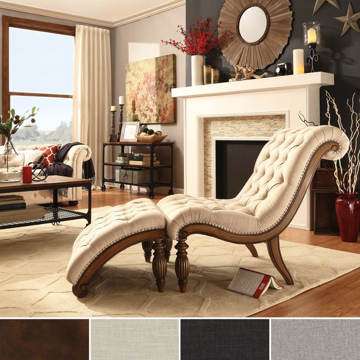 Relax In Style With This Graceful Brown Leather Bellagio Chaise Lounge. A  Perfect Addition To
