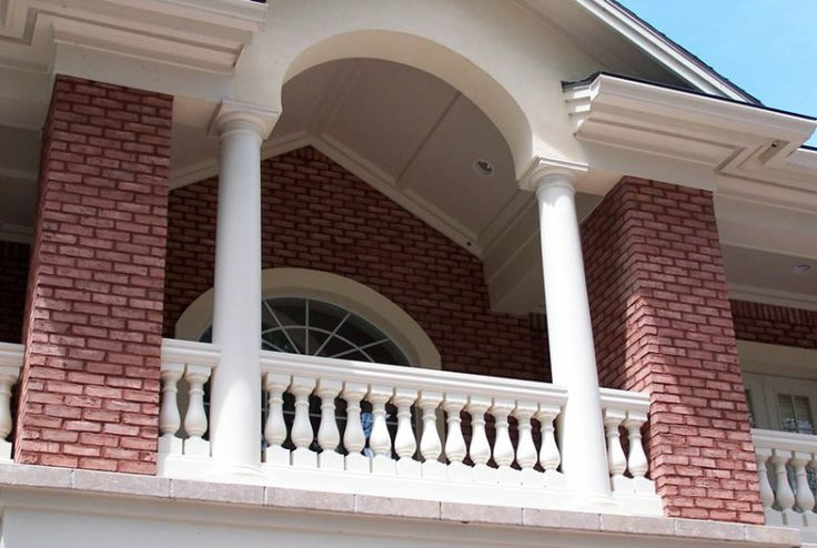 353 best columns images on pinterest architectural for Fiberglass architectural columns