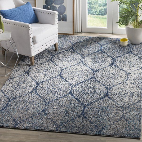 Game Area 326 For 9x12 Katie Navy Blue Gray Area Rug Reviews Birch Lane Wayfair Blue Gray Area Rug Transitional Carpet Area Rugs