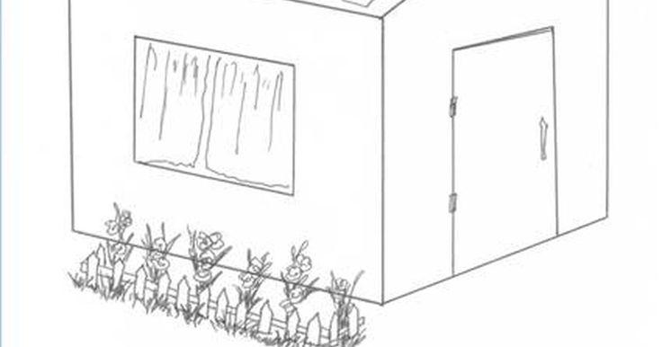 Como fazer uma casinha para crianças. Crianças adoram ter um esconderijo especial. Você não precisa de uma elaborada casa na árvore para que seu filho tenha uma área de privacidade para onde escapar. Uma casinha no quintal é igualmente efetiva para dar a ele seu próprio espaço. Estas instruções são para uma casinha feita de madeira de pinheiro que mede 1,20 m de comprimento por 90 cm ...